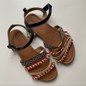 Joe Fresh kids gladiator sandals